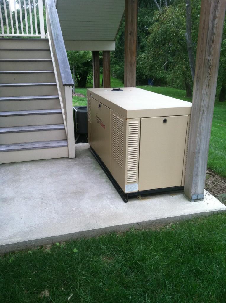 Kelly Electric installs electric generators