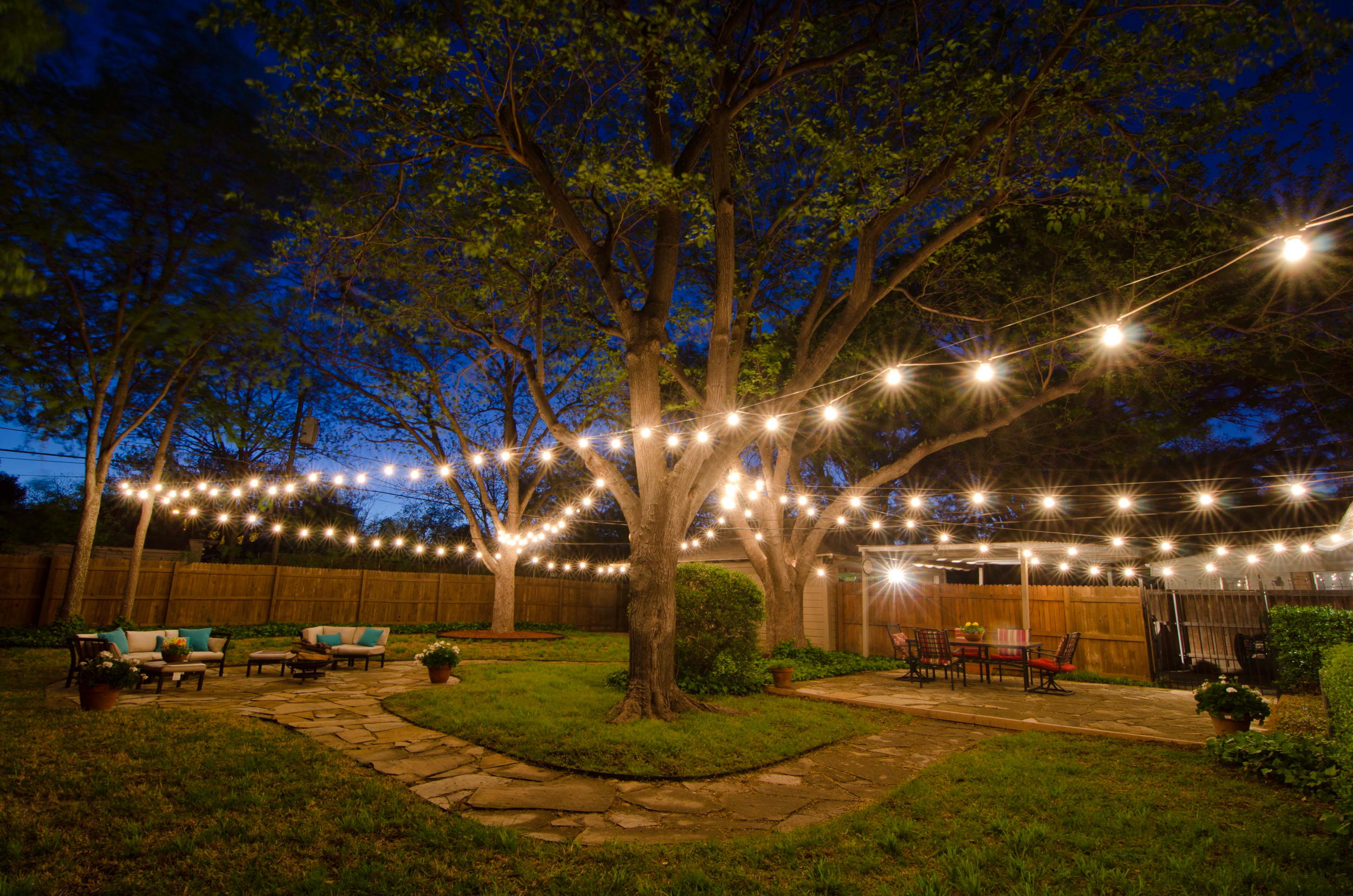 Kelly Electric can can design and install outdoor lighting for your home or business