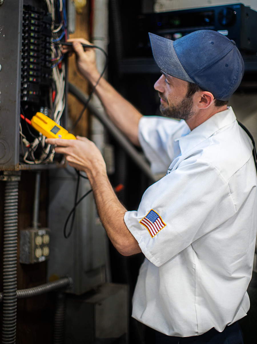 the expert technicians at Kelly Electric can diagnose and repair any issues with your electrical panel
